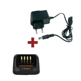 Cargador completo para walkies Hytera