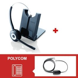 Pack Jabra Pro 920 con descolgador electrónico para Soundpoint Polycom