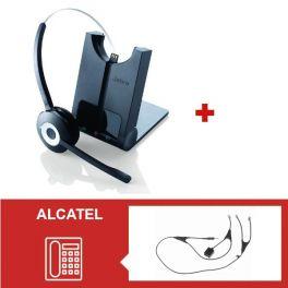 Jabra PRO 920 + Descolgador electrónico para teléfonos Alcatel