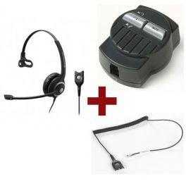 Sennheiser SC230 QD Mono + Cable + Adaptador