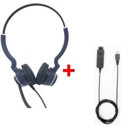 Cleyver HC25 QD Duo + Cable Cleyver USB80