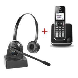 Pack Panasonic KX-TGD310 + Cleyver HW15