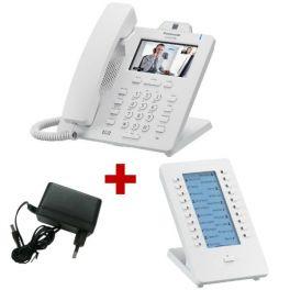 Panasonic KX-HDV430 Blanco con alimentación + expansión de teclado