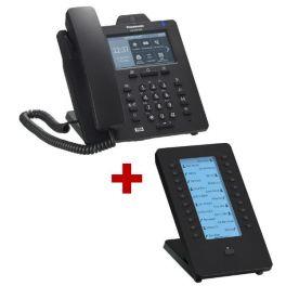 Panasonic KX-HDV430 Negro con expansión de teclado