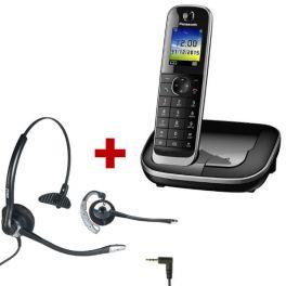 Panasonic KX-TGJ310 Negro + Auricular OD HC10