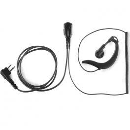 Auricular gancho 2 pins Motorola, cable resistente