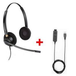 Pack: Plantronics Encore Pro HW520 + Cable USB80