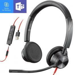Plantronics Blackwire 3325 USB-A + Jack 3,5 MS