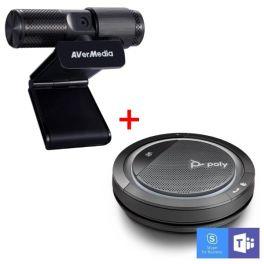 Poly Calisto 5300 - USB-A + AVerMedia Live Streamer CAM 313