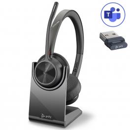 Poly Voyager 4320 USB-A Microsoft Teams + Base de carga