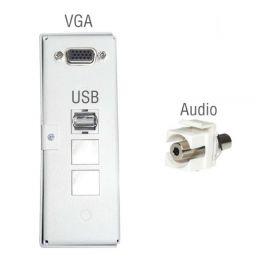 Caja de conexión Multiclass con entrada Audio
