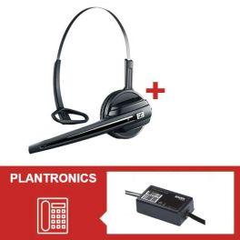Pack Sennheiser D10 Phone con adaptador electrónico EHS para Snom