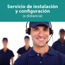 Servicio de asistencia telefónica en la instalación y configuración