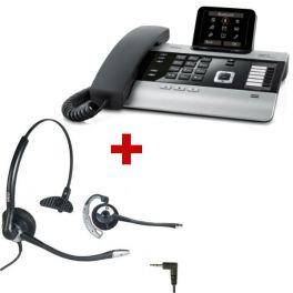 Mini centralita Gigaset DX800 + auricular OD HC10