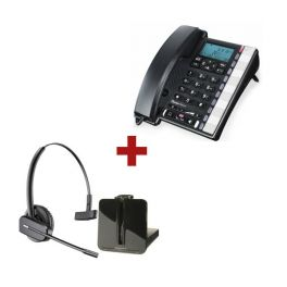 Premium 300 + aur. inalámbrico Plantronics CS540