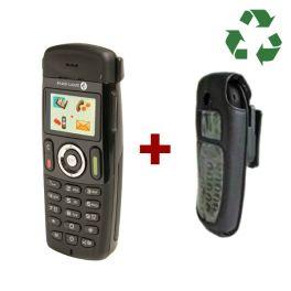 Alcatel DECT 400 reacondicionado + funda para Alcatel 300-400