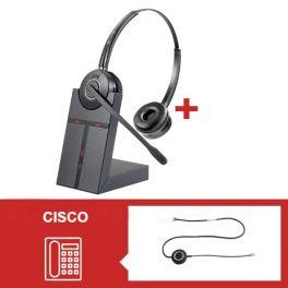 Pack auriculares Cleyver HW25 para Cisco Serie 79 - Segunda versión