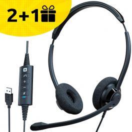 2 auriculares Cleyver, el 3º de regalo