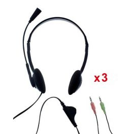 Pack 3x T'nB First Auriculares Doble Jack