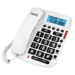 Teléfono Topic 2013 Blanco