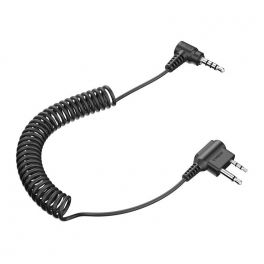 Cable doble jack Tufftalk para Midland