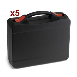 Pack 5x Maleta profesional modulable para walkies-talkies