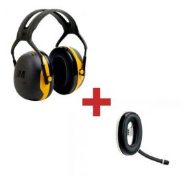 3M Peltor X2A + Micro-auricular Bluetooth