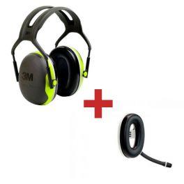 3M Peltor X4A + Micro-auricular Bluetooth