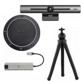 Pack videoconferencia Cleyver CC60 con Barra de imagen 4K