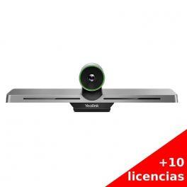 Yealink VC200 WPP20 con 10 licencias