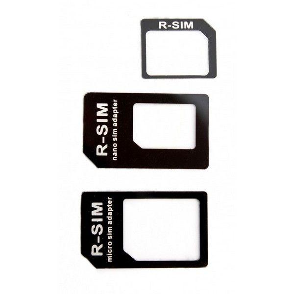 Adaptador de tarjeta SIM Nano + Micro SIM 3 en 1