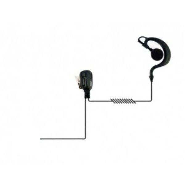 Auricular gancho con conexión para Motorola Serie DP4xx/3xxx