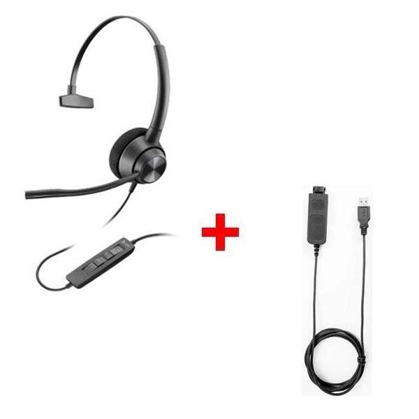 Plantronics EncorePro 310 + Cable USB80
