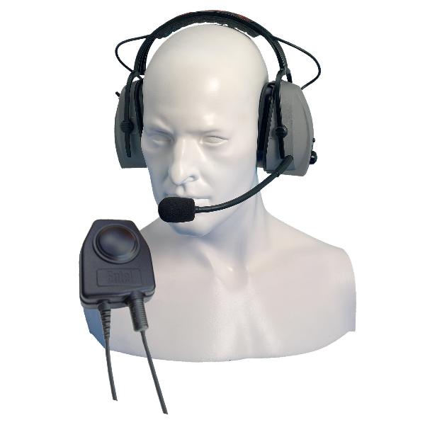 Entel CHP450D Protector auditivo con micro para serie HX