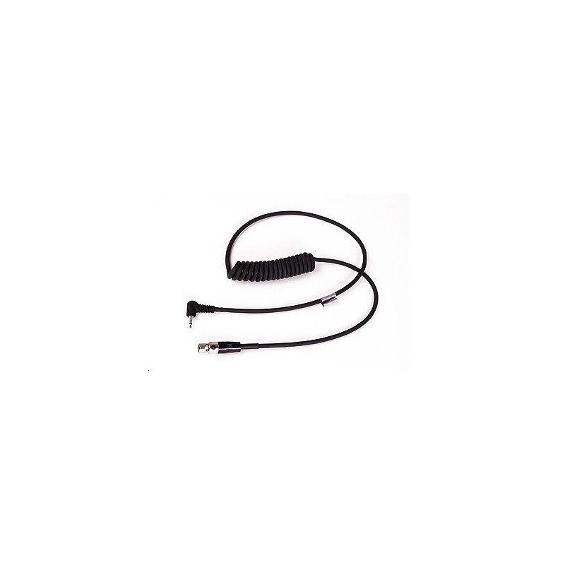 Cable LiteCom con conexión estéreo 2.5mm para teléfono DECT y móvil