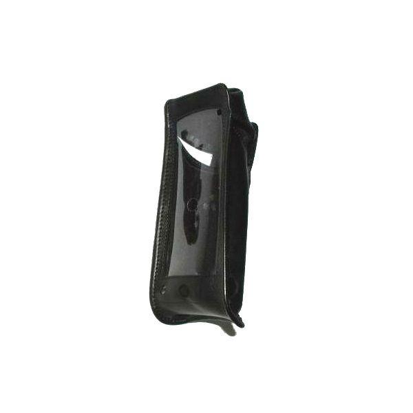 Funda de cuero negra para iSafe IS520