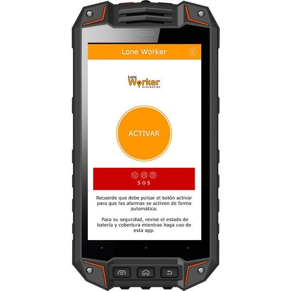 Smartphone Atex i.safe IS520.1 Sin cámara + App Lone Worker