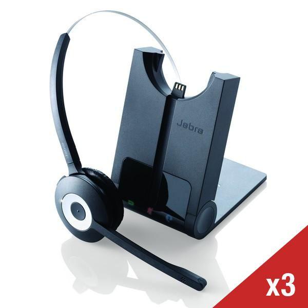 Pack 3 auriculares Jabra PRO 920