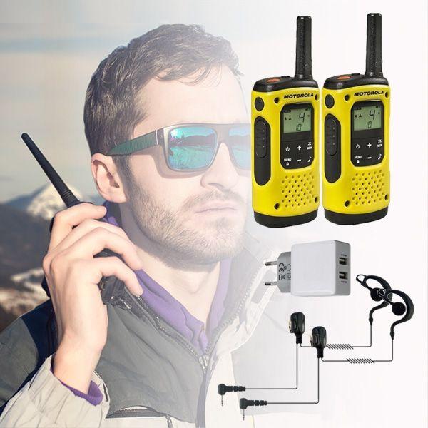 Motorola T92 H2O + 2 Kits contorno BR1708