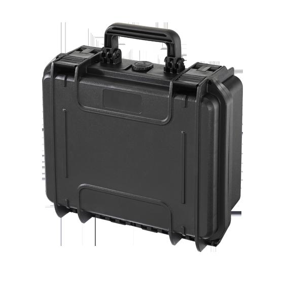 MAX300S Negra – Maleta con espuma para walkie talkies