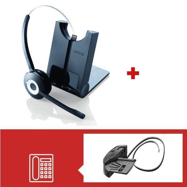 Pack Jabra Pro 920 con descolgador mecánico GN1000
