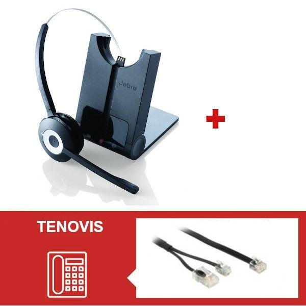 Jabra PRO 920 + Descolgador electrónico para teléfonos para Tenovis