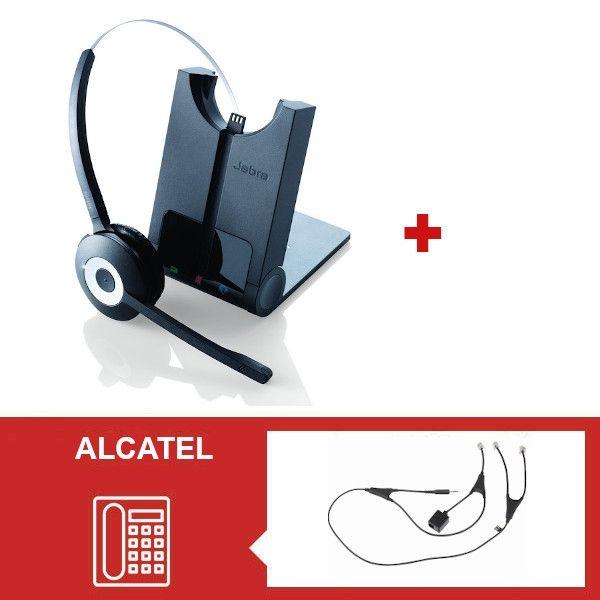 Pack Jabra PRO 920 con descolgador para Alcatel Serie 8 y 9