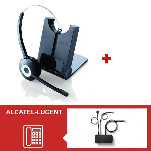 Jabra PRO 920 + Descolgador para teléfonos Alcatel-Lucent