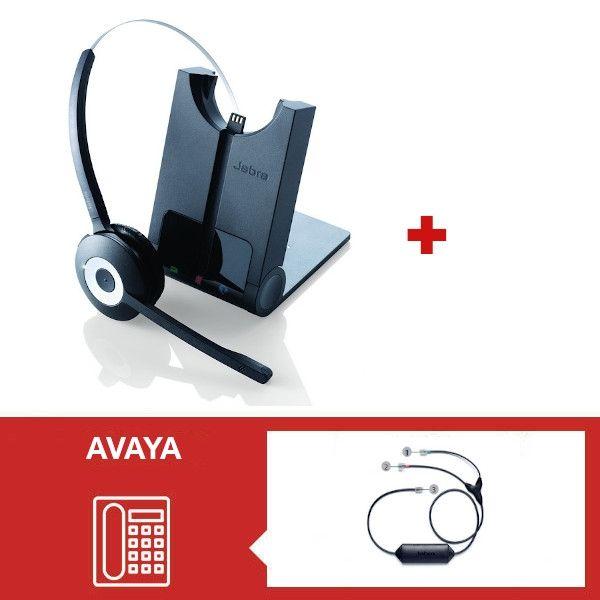 Jabra PRO 920 + Descolgador para teléfonos Avaya - Segunda versión