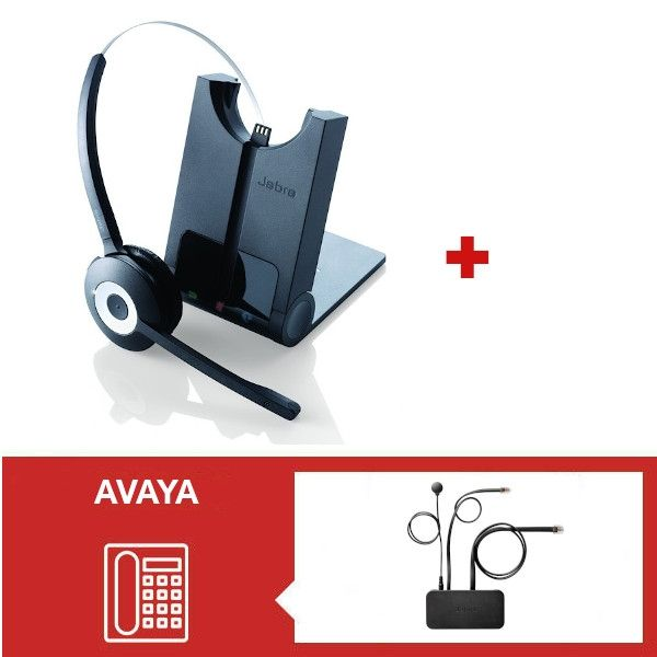 Jabra PRO 920 + Descolgador para teléfonos Avaya - AV16