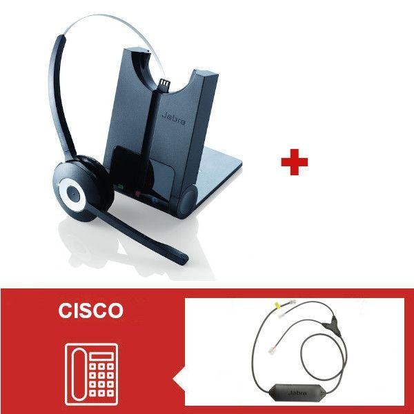 Jabra PRO 920 + Descolgador para teléfonos Cisco