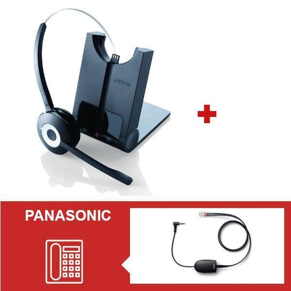 Jabra PRO 920 + Descolgador electrónico para teléfonos Panasonic
