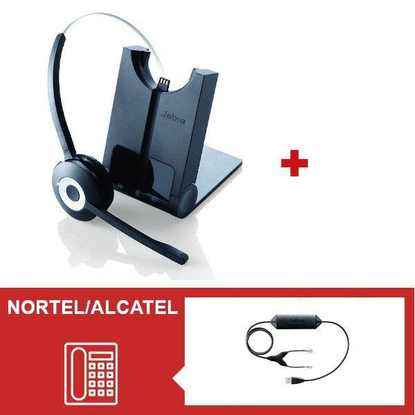 Jabra PRO 920  + Descolgador electrónico USB para Nortel y Avaya