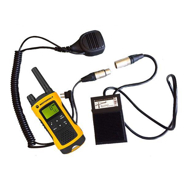 Pedal PTT para Motorola TLKR (conexión 1 pin)